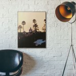 Hotel California Album Cover from 1976 Wooden Poster