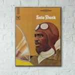 Thelonious Monk's Solo Monk Album Cover from 1965 Wooden Poster