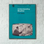 Pelican Book Covers - Understanding Weather 1960 Wooden Poster