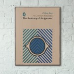 Pelican Book Covers - The Anatomy of Judgement 1969 Wooden Poster