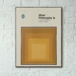 Pelican Book Covers - What Philosophy Is 1968 Wooden Poster