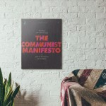 Pelican Book Covers - The Communist Manifesto 1967 Wooden Poster