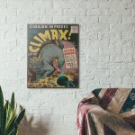 Climax! Comics #2 1955 Wood Sign