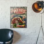 Marvel's Weird Wonder Tales #20 1977 Wooden Poster