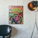 Marvel's Black Panther #10 1978 Wooden Poster