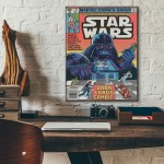 Marvel's Star Wars Comic Book Issue #35 1980 Wooden Poster