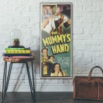 The Mummy's Hand 1940 Double Wooden Poster