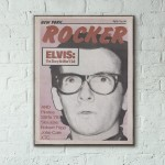New York Rocker Magazine Cover #17 1979 Wooden Poster