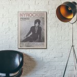 New York Rocker Magazine Cover #40 1981 Wooden Poster