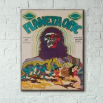 Planet of the Apes 1968 Czech Wood Sign