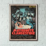 Maternité clandestine 1953 French Wooden Poster