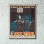 The Last Mile 1959 French Wooden Poster
