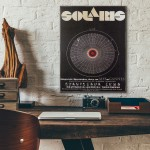 Tarkovsky's Solaris 1972 Polish Wood Sign