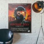 Brain Slasher Exploitation Monster Movie 1992 Wooden Poster