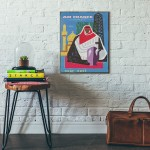 Air France - Near East 1960 Wooden Travel Poster