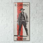 The Good, the Bad and the Ugly 1966 Triple Wooden Poster
