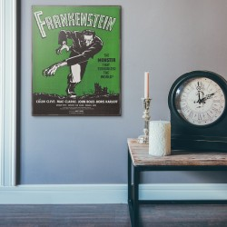 James Whale's Frankenstein 1931 Wood Sign